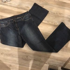 International concepts bootcut jeans